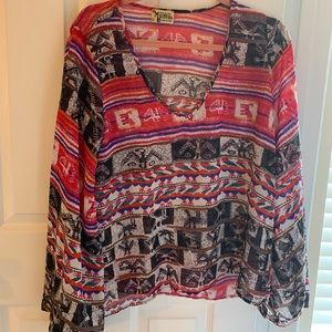 Show me Your Mumu Aztec Top!